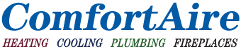 ComfortAire Heating Cooling Plumbing Logo