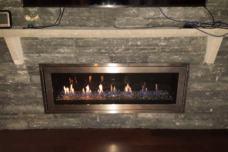 LV50 Fireplace