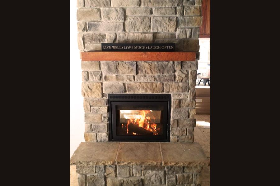 Supreme Duet Fireplace