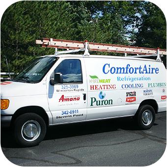 ComfortAire Service Van